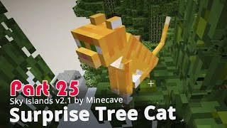 Minecraft Adventure Map - Sky Islands v2.1 - Surprise Tree Cat {25}