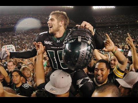 Colt Brennan, former Hawaii star quarterback and 2007 Heisman ...