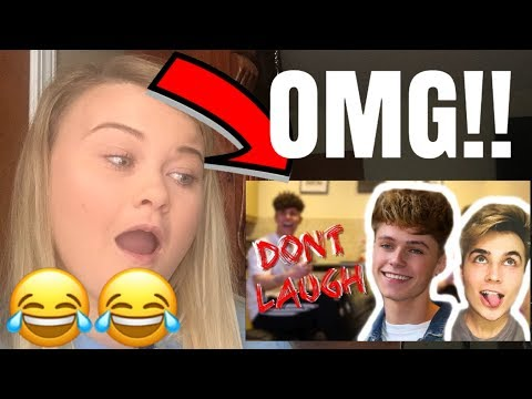 """ROADTRIPTV FT. HRVY """"TRY NOT TO LAUGH CHALLENGE"""" **REACTION**"""