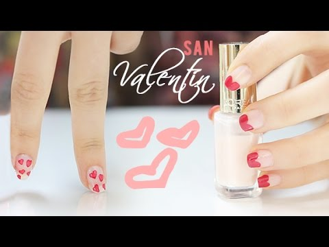 Diseños de uñas para San Valentín | Nail Art