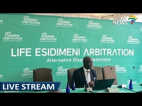 Judge Moseneke delivers Life Esidimeni report: 19 March 2018