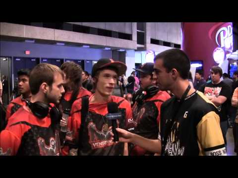 MLG Dallas 12' | Giggle Monster & Doperah From Team Vengence Interview