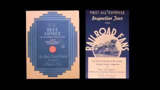 The Blue Comet Advertising - Excerpt From De Luxe: The Tale of the Blue Comet