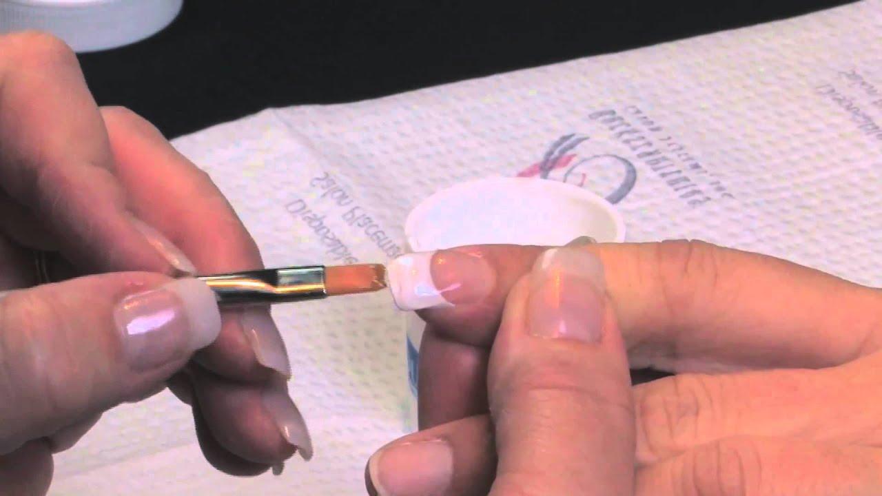 How to do Gel Nails - YOU Gel Backscratchers Salon Systems - YouTube