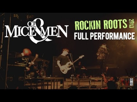 Of Mice & Men - FULL SET #3 LIVE! Rockin Roots 2013 (Bakersf