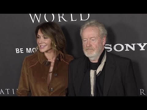 Ridley Scott and Giannina Facio at All The Money In The World Los Angeles premiere