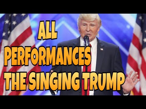 The Singing Trump | All Performances | America's Got Talent 2017 | Talent Worldwide