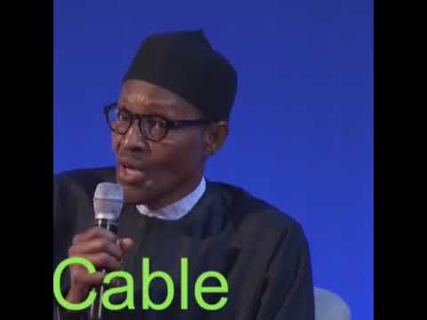 "See The Moment Buhari Said: ""Nigerian Youths Are Uneducated & Not Ready To Work"" (Watch Video)"