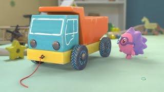 Малышарики - Раскраска для детей - Грузовичок  | Развивающие видео