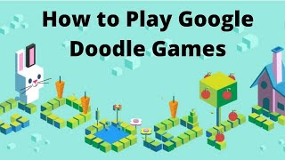 Popular Google Doodle Games/ How To Play Google Doodle Games Cricket / Coding  2017  Play At Home