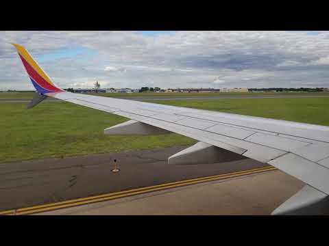 Southwest Flight Landing At BDL (from BWI)