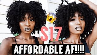 THE MOST NATURAL LOOKING SYNTHETIC WIG | VELA VELA PEPE | Miss.Cameroon