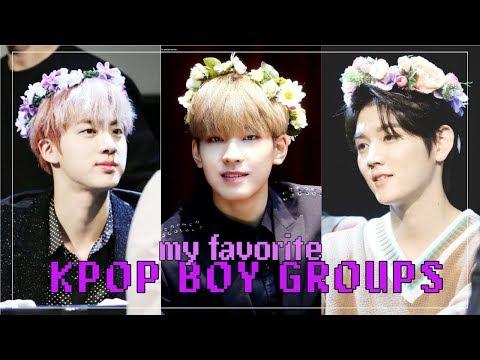 My Favorite KPOP Boy Groups  TOP 20