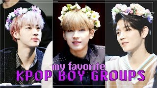 Baixar My Favorite KPOP Boy Groups || TOP 20