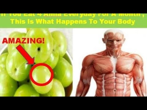 IMPORTANT! If You Eat 4 Amla Everyday For a Month , This Is What Happens to Your Body I HealthyReci
