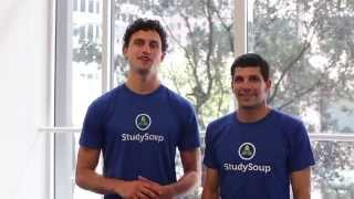 Meet the StudySoup Co-Founders Sieva & Jeff