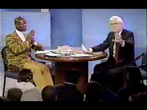 Mhenga Khalid Muhammad: On Donahue [1994]