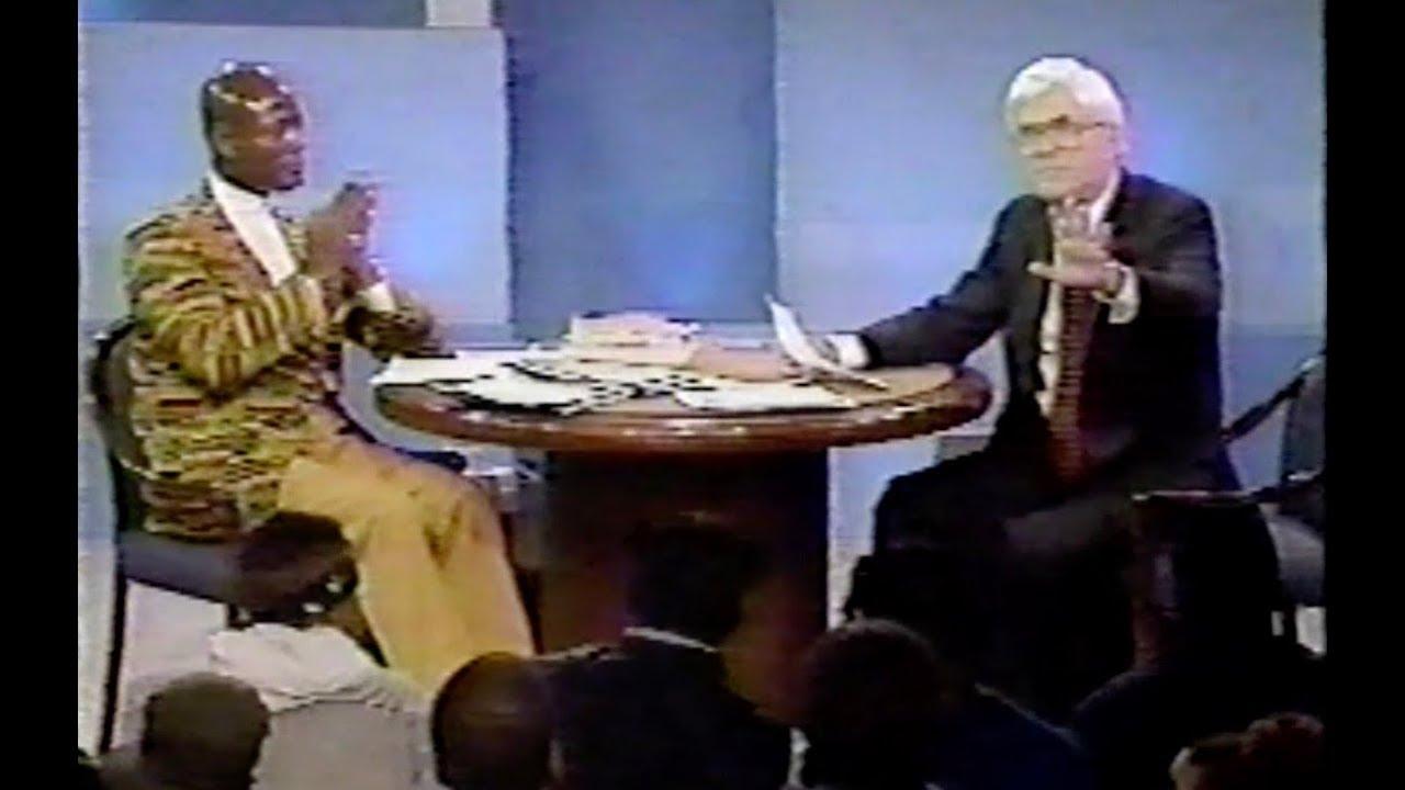 Khalid Muhammad on Donahue (1994)