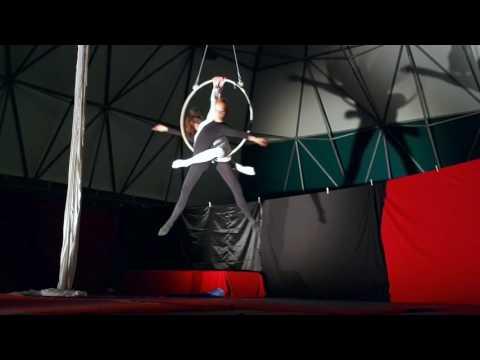 Elena Quadrelli & Rachele Grassi Aerial Hoop: Mad World
