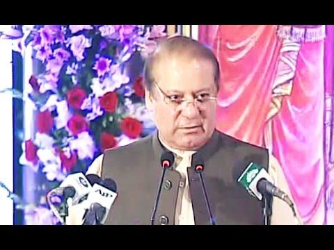 PM Nawaz Sharif  address at Hindu Community Event