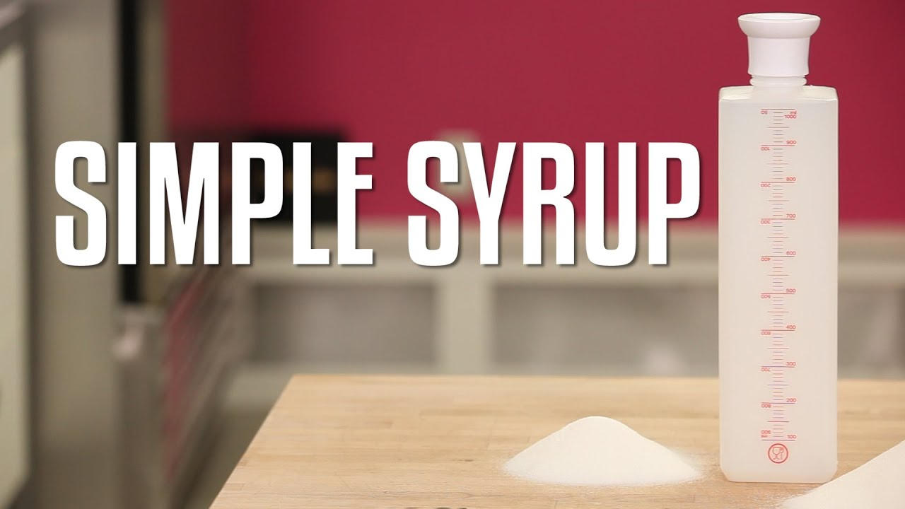 How To Make And Use Simple Syrup For Your Cakes Where Find My Bottle You