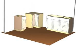 Barker Cabinets- Standard Kitchen Layout Tutorial