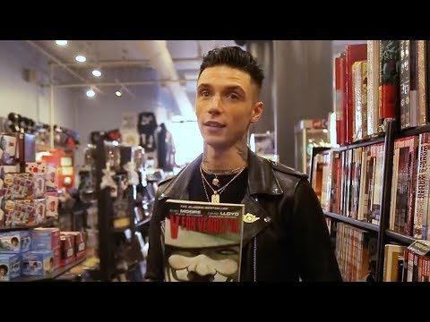 Andy Black Shops For His Top 5 Graphic Novels At Forbidden Planet