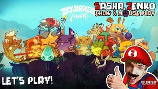 Zquirrels Jump Gameplay (Chin & Mouse Only)