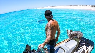 CLEAREST WATER EVER!! The Boys First Trip In Our New Boat - Ep 141