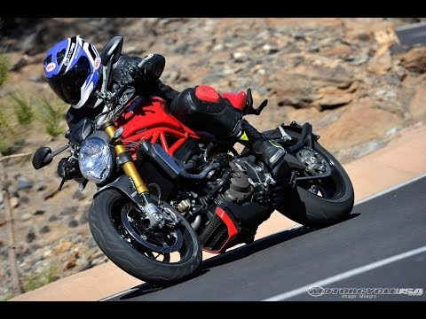 Ducati Monster 1200 Test Ride Review