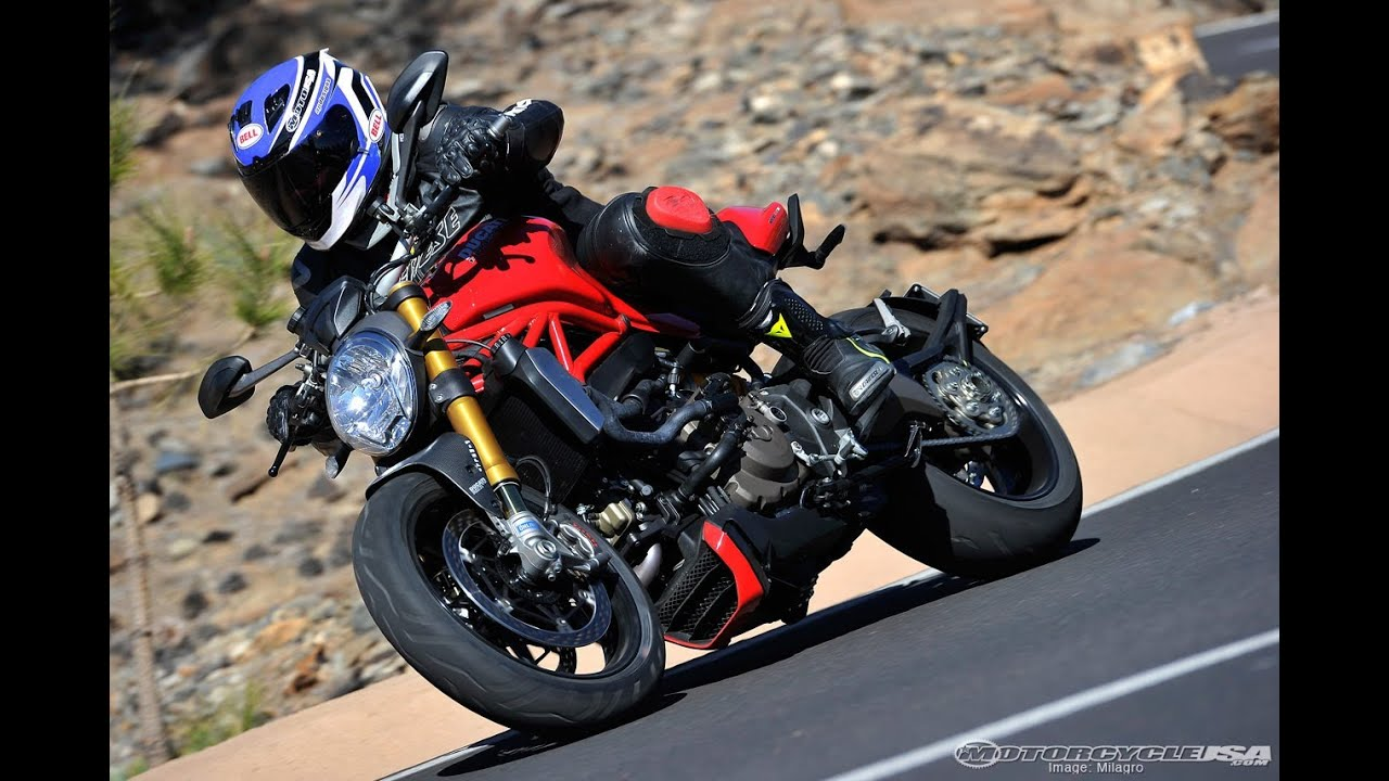 2014 Ducati Monster 1200 S First Ride - MotoUSA - YouTube