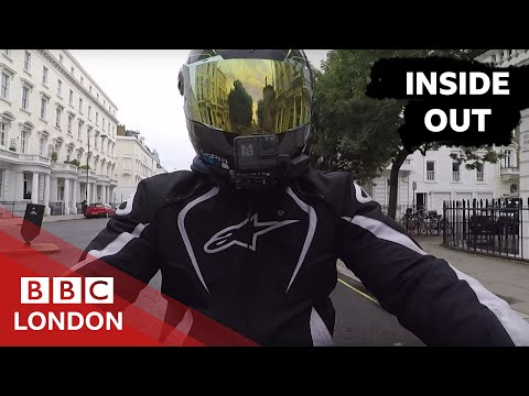 London's Food Couriers Under Attack - BBC London