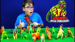 APRO TUTTI I THE EPIC ANIMALS MEGA DINOSAURI - Leonardo D
