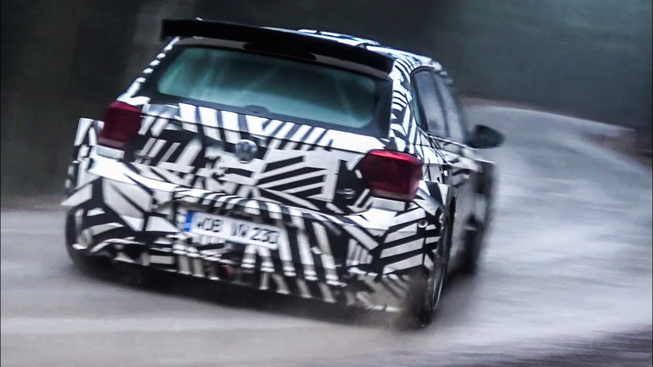 Volkswagen Polo GTI R5 | Tarmac Test - YouTube