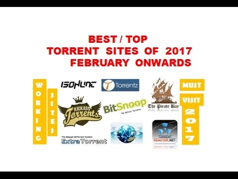 Top 22 - Working Torrent Sites of 2017 + Preview | Best torrent