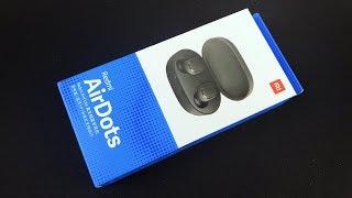 红米AirDots无线蓝牙耳机开箱:简单易用连接速度快