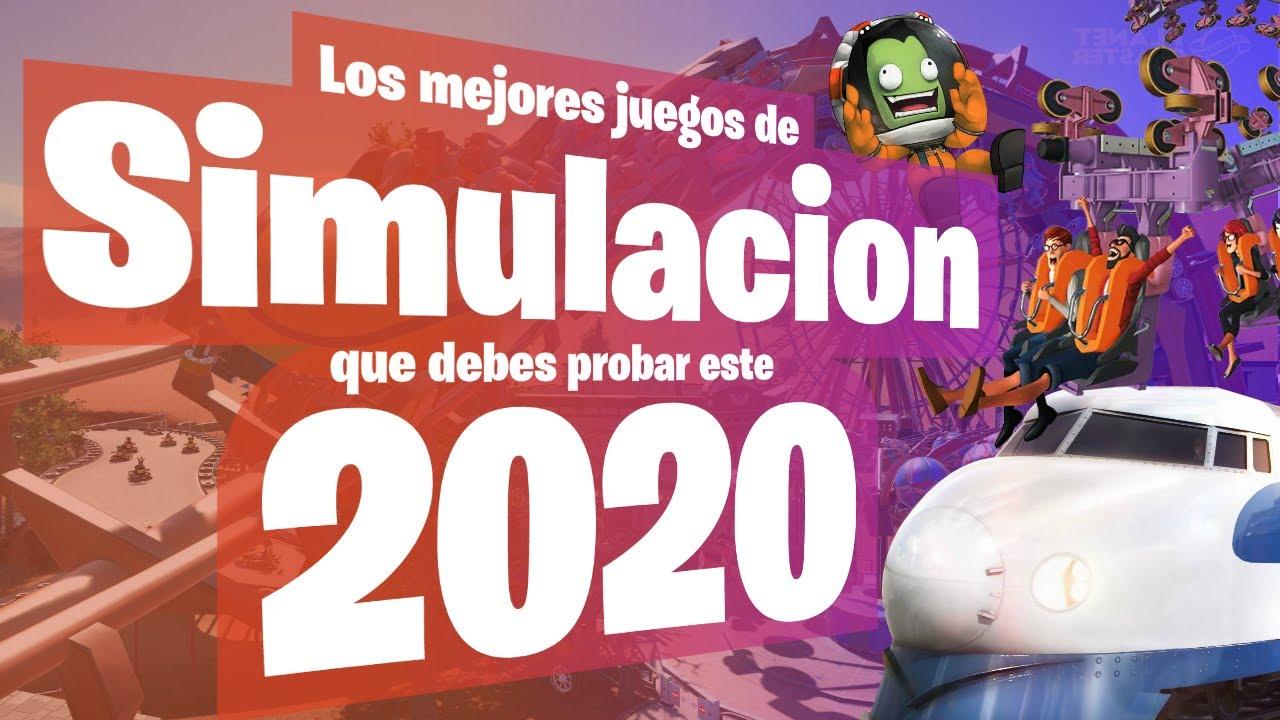 LOS MEJORES JUEGOS DE SIMULACIÓN QUE DEBES PROBAR ESTE 2020 🔥 PARTE 2