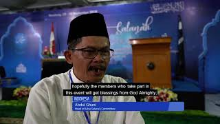 Extremists protest against Indonesian Ahmadis holding Jalsa where charity raised for tsunami victims