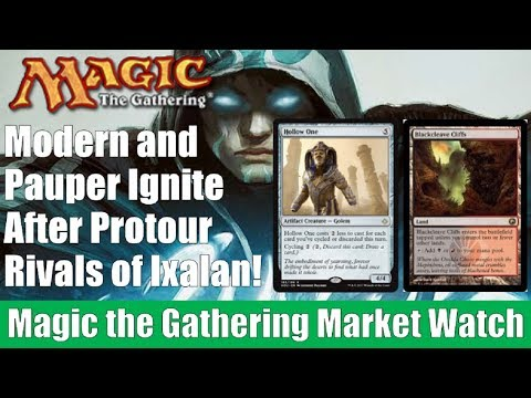 MTG Market Watch: Modern and Pauper Ignite After Protour Rivals of Ixalan