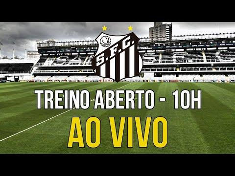 LIVE: Treino aberto na Vila Belmiro