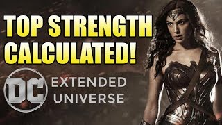 How Strong is the DCEU Wonder Woman?