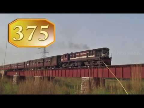 FL YDM 4 hauls Churu Passenger on a Bridge : Indian Railways
