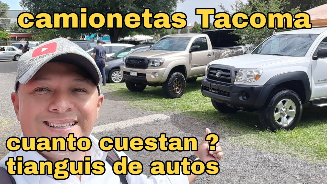 camionetas toyota tacoma cuanto cuestan en tianguis de autos usados mercado libre