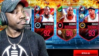 92+ OVERALL ELITE PULLS IN PLAYOFF PACK OPENING! NBA Live Mobile 16 Gameplay Ep. 102