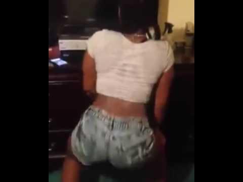Haitian Girl Dancing to Mix (Bend Down Pause refix-SoundCloud)