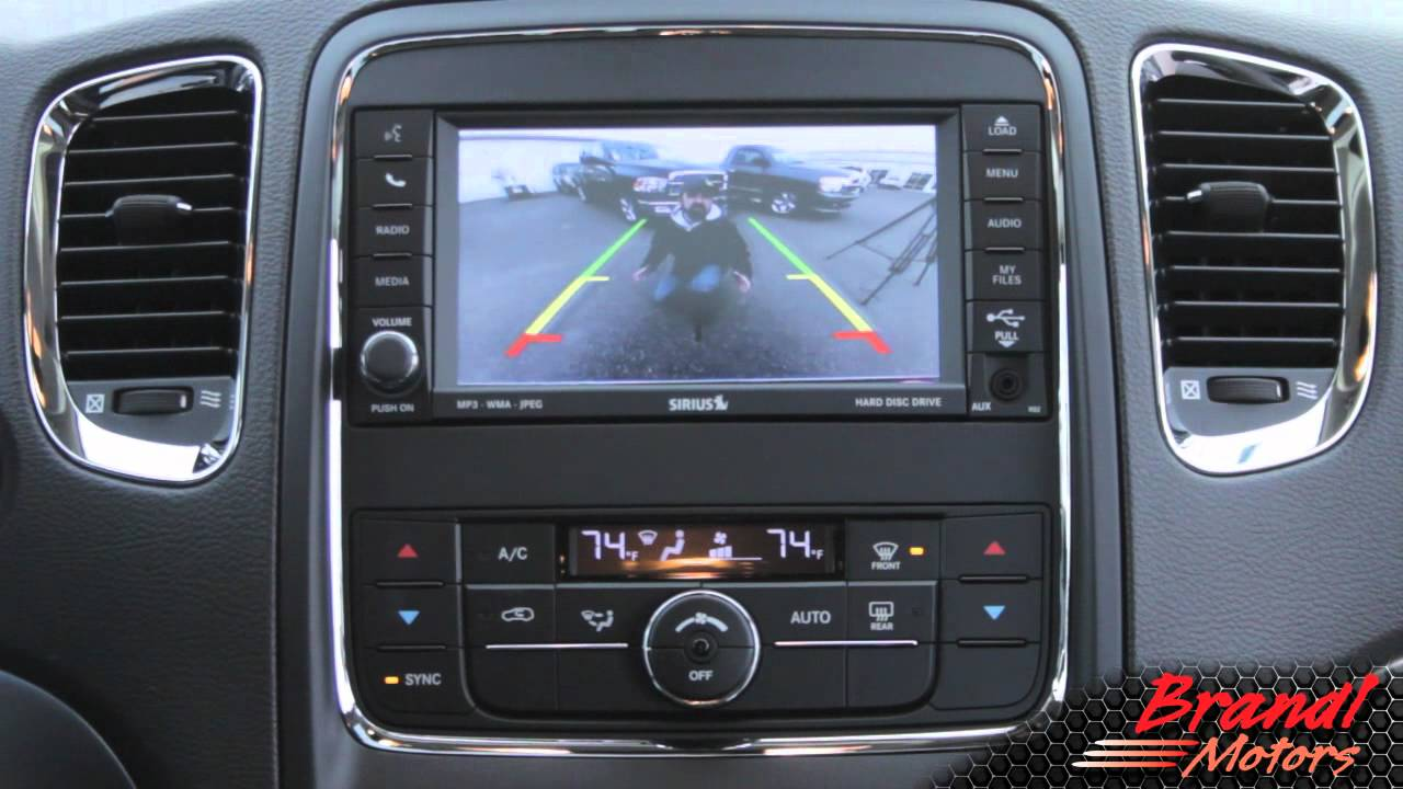 Parkview Backup Camera And Parksense Park Assist Brandl