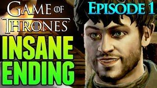 Game of Thrones Telltale Game ENDING (Episode 1)