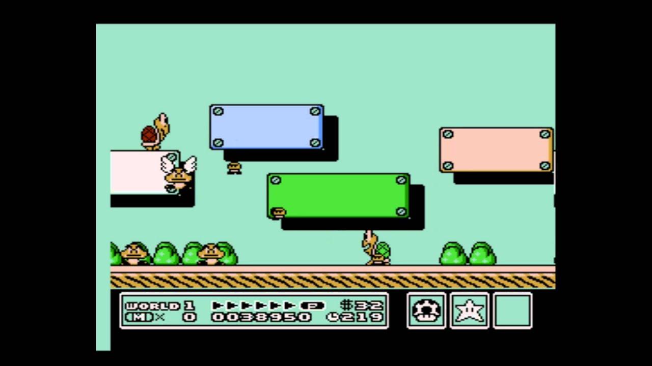 Yoshi Egg Thurdays: Super Mario Bros 3 going into background secret!!!