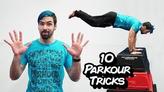 10 Parkour Tricks for Beginners (Learn Parkour and Freerunning)