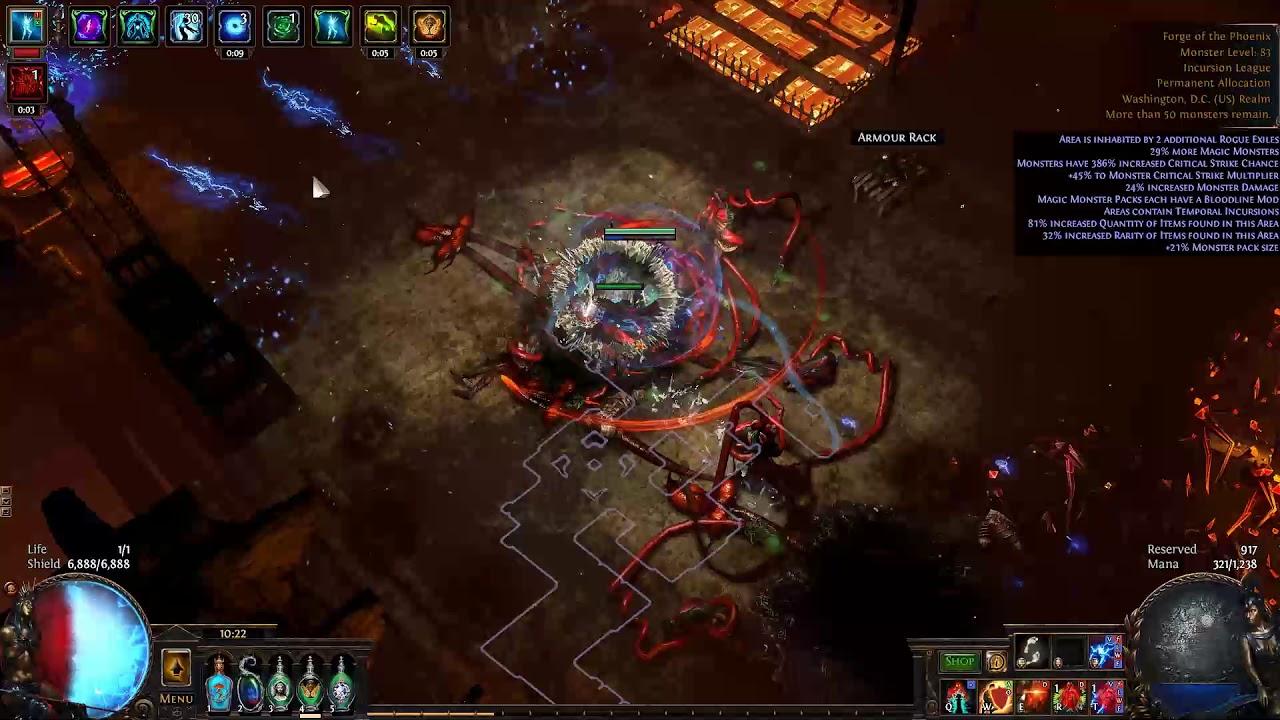[3 3] CI HoWA Lightning Strike Occultist - T16 Deathless Phoenix